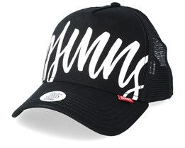 Bombing Black/White Trucker - Djinns