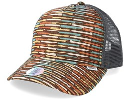 Wlu Crazy Stripes/Grey Trucker - Djinns