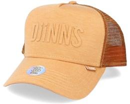Hft Cap Basic Beauty Jersey Mustard Trucker - Djinns