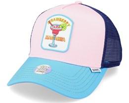 Hft Food Strawmaga Pink Trucker - Djinns