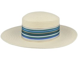 Noreen Paper P Natural Straw Hat - Mayser