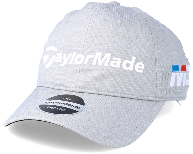 92b7d89d5be Lite Tech Tour Light Grey Adjustable - Taylor Made caps