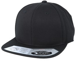 Lux Black 110 Snapback - Yupoong