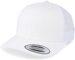White Trucker Adjustable - Yupoong