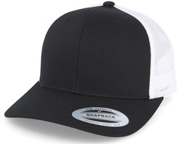 Retro 2 tone Black/White Trucker - Yupoong