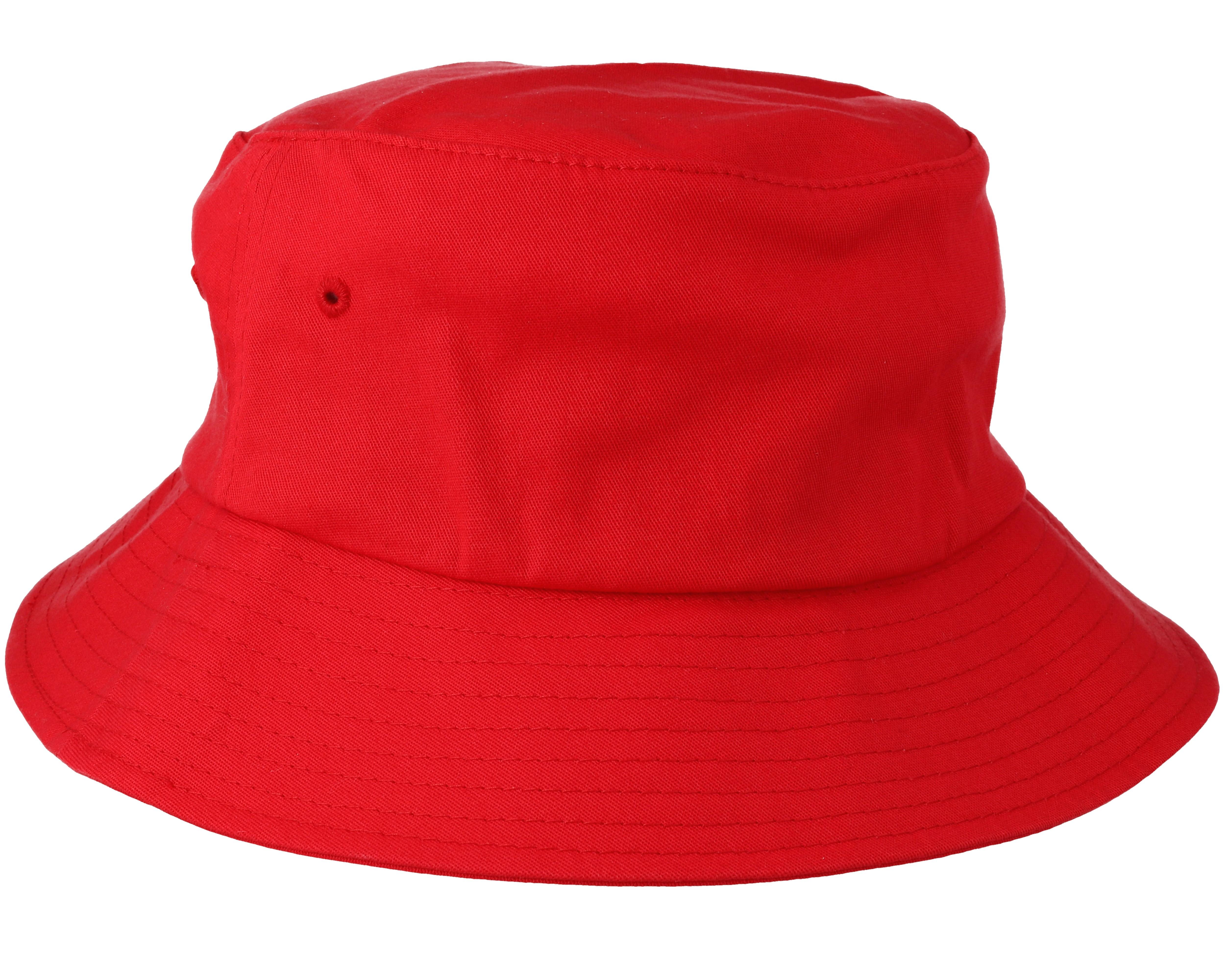 Kangol Bermuda Red Bucket Hat  |Red Bucket Hat