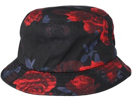 Multi Red Rose Bucket - Yupoong