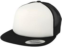 Black/White/Black Trucker - Yupoong