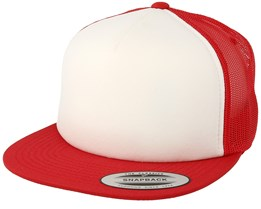Foam Red/White/Red Trucker - Yupoong