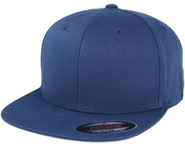 Flat Brim Navy Fitted - Flexfit