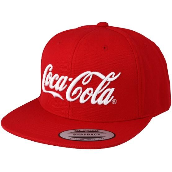 Coca Cola Logo Red Snapback Mister Tee Caps