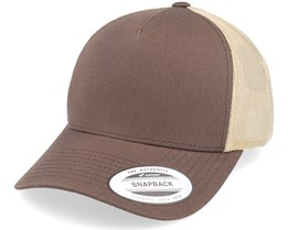 Brown/Khaki Trucker - Yupoong