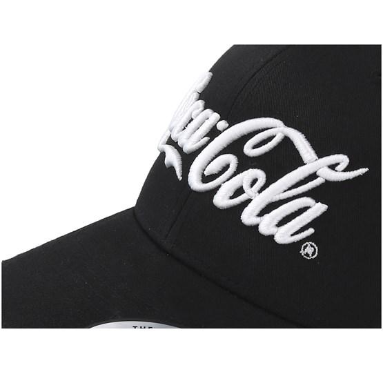 7da208edace Coca Cola Black White Trucker - Mister Tee caps - Hatstoreworld.com