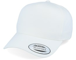 Curved A-Frame White Adjustable - Yupoong