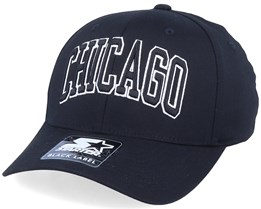 Chicago Cap Black/White Flexfit - Starter