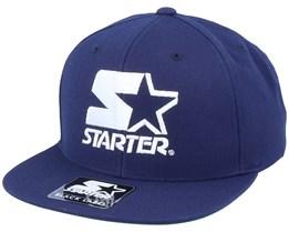 Logo Snapback Navy/White Snapback - Starter