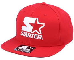 Logo Red/White Snapback - Starter