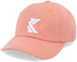 Denim Cap Peach/White Adjustable - Karl Kani
