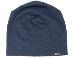 Travel Beanie Night Blue Beanie - Jack Wolfskin