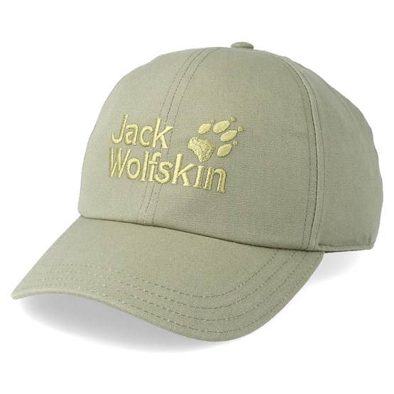 Keps Baseball Cap Khaki Green Adjustable - Jack Wolfskin - Grön Reglerbar