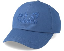 Baseball Cap Ocean Wave Blue Adjustable - Jack Wolfskin