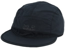 Supplex Road Trip Black 5-Panel - Jack Wolfskin