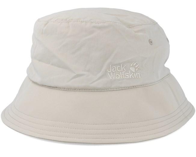 fd0d419c3dea6 Supplex Sun Hat Light Sand Bucket - Jack Wolfskin hats