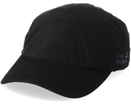 Stormlock Blizzard Black 5-Panel - Jack Wolfskin