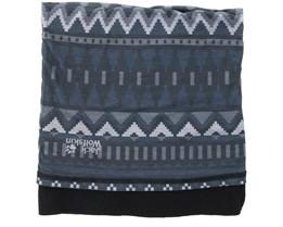 Print Fleece Grey Headgear - Jack Wolfskin
