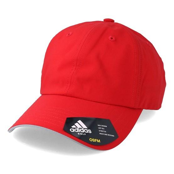 Keps Preformance Stretch Red Adjustable - Adidas - Röd Reglerbar