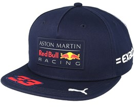 Kids Red Bull Racing Verstappen Navy Snapback - Red Bull