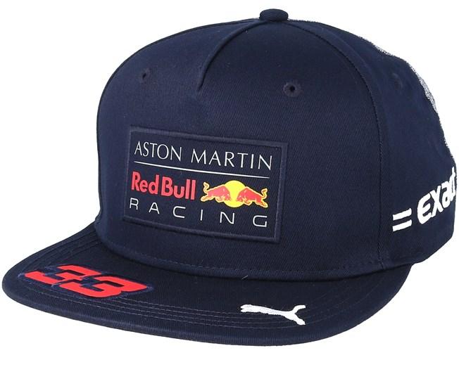 Red Bull Racing Verstappen Navy Snapback - Red Bull caps  520236da7b3