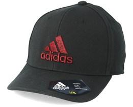 Heather Logo Black Flexfit - Adidas