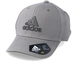 Heather Logo Heather Grey Flexfit - Adidas