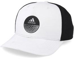 Globe White/Black Trucker Adjustable - Adidas