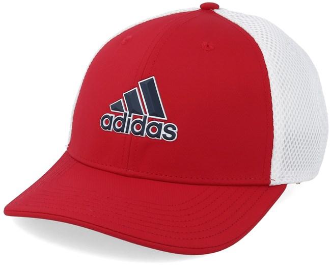 74837465e92 A-Stretch Tour Red White Flexfit - Adidas caps - Hatstoreworld.com