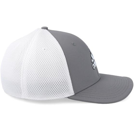 0f21a52b988 A-Stretch Tour Grey White Flexfit - Adidas caps - Hatstoreaustralia.com