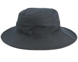 Texapore Ecosphere Rain Black Bucket - Jack Wolfskin