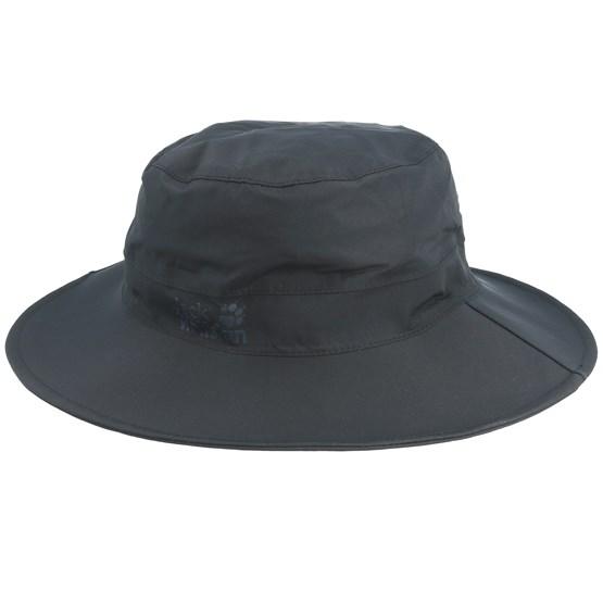 Hatt Texapore Ecosphere Rain Black Bucket - Jack Wolfskin - Svart Bucket