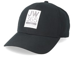 365 Baseball Black Adjustable - Jack Wolfskin