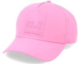 Baseball Cap Pink Champagne Adjustable - Jack Wolfskin