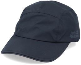 Texapore Winter Cap Black Ear Flap - Jack Wolfskin