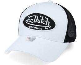 Cotton White/Black Trucker - Von Dutch