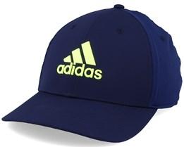 Golf Tour Navy Blue/Solar Yellow Flexfit - Adidas