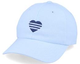 Women's Three Stripe Heart Cotton Sky Tint Adjustable - Adidas