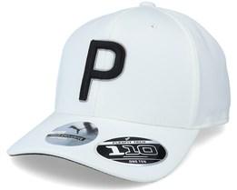 Kids P Bright White Adjustable - Puma