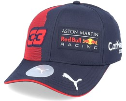 Red Bull Racing Rp Verstappen Bb Cap Navy/Red Adjustable - Formula One