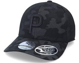 Camo Pattern P Black 110 Adjustable - Puma