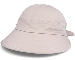 Cap In Fabric With Bow Detail Nutria - Seeberger