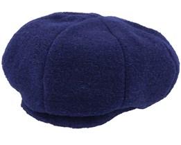 Wool blend Marine Blue Beret - Seeberger